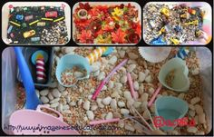 Cajas sensoriales Collage - Imagenes Educativas