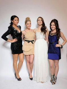Ashley Benson, Lucy Hale, Shay Mitchell and Troian Bellisario