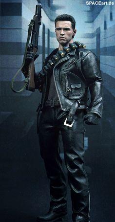 Terminator 2: T-800 - DX Deluxe Figur, Fertig-Modell ... http://spaceart.de/produkte/te017.php