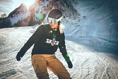 You don't have to ski, te be SKIER ;-) Snowboarding, Skiing, Bomber Jacket, Athletic, Winter, Sweaters, Jackets, Fashion, Snow Board