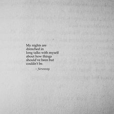 """3,501 Likes, 36 Comments - faraway (@farawaypoetry) on Instagram: """"Long nights; phone off  Follow @farawaypoetry (me) for more daily, original poetry!"""""""