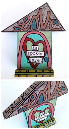 Scrap wood mixed media house 7 inches tall $21 + $7 shipping Things With Wings Facebook sale happening this week! https://www.facebook.com/photo.php?fbid=10152198503023678&set=a.10152198495748678.1073741832.107321968677&type=3&theater