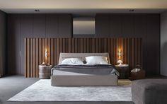 Minimalistische slaapkamers van Aleksandra Kostyuchkova