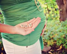 So. Cute. And no big belly hanging out...I hate those kinds of pregnancy pics.