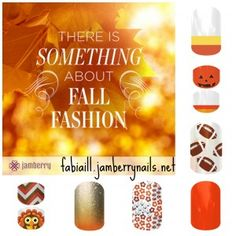 Candy Corn and Turkeys are here! Order your Jamberry Nail Wraps now - they are Buy 3 Get 1 FREE!