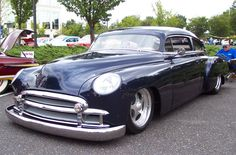 1949 Chevrolet Black Custom