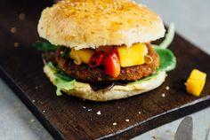 Ein Thai-Burger mit Mango-Chutney – und ein Contest {enthält Werbung}