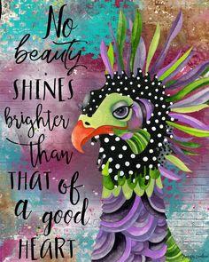Bright Art, Hippie Art, Meaningful Words, Heart Art, Art Journal Pages, Bird Art, Collage Art, Collage Ideas, Painted Rocks