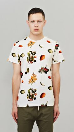 Cream Fruit Tee