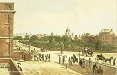 Lincolns Inn Fields- While the area was fashionable, it was plagued by fights and robberies. Residents included: Edward Montagu the 1st Earl of Sandwich, 2nd and 3rd Lords Coventry, Thomas Pelham-Holles Duke of Newcastle, Robert Sidney 2nd Earl of Leicester, Robert Bertie 1st Earl of Lindsey at no. 59-60 built in 1640 by Inigo Jones, the Duchess of Portsmouth, Willaim Pitt's chambers in 1778, and Charles Beauclerk 1st Duke of St. Albans who was the son of Nell Gwen and Charles the 2nd.