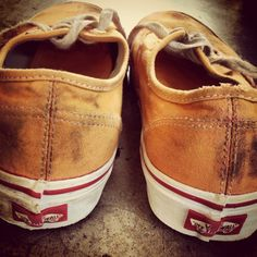 """The Vans """"Distressing"""" Project. Vans, summer and skate sessions"""