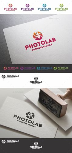 Photo Lab Photography Studio Logo Template – Aperture Logo Template – that can be used by professional photographers, video studio, creative photographer, software, photo program, mobile app, photography studios or companies related to photography. And many-many other Your business ideas.