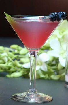 Blueberry Martini  Ingredients   2 oz Triple Sec   2 oz Blueberry Vodka   1 dash Sprite   2 oz Blueberry juice     Combine the Smirnoff blueberry vodka, triple sec and blueberry juice in a cocktail shaker half-filled with ice cubes. Shake well and strain into a cocktail glass. Top with Sprite, garnish with fresh blueberries, and serve.