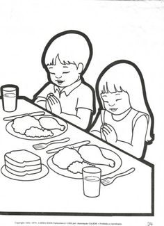coloring pages prayer Coloring page Praying Children to color