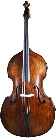 English Double bass circa 1870 att. William Calow