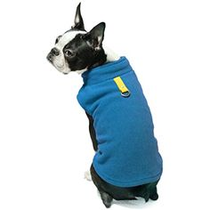 Gooby Every Day Fleece Cold Weather Dog Vest for Small Dogs, Deep Blue, X-Large >>> Read more reviews of the product by visiting the link on the image. (This is an affiliate link) #Sweaters