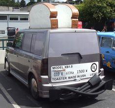 Scion Xb Toaster Funny Jokes Pranks Things Transportation Wheels Stuff Husky