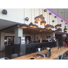 Moxy Milan lobby design by APTO. -------  #atthemoxy