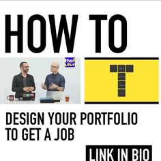 One of our most popular posts where @thechrisdo and @josecaballer talk about what employers look for in a portfolio. Check out more great content  @thefuturishere - LINK IN BIO  http://ift.tt/2xRHjnk