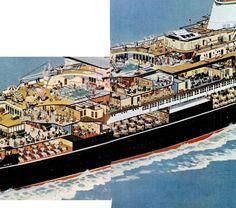 cruiseship   Messy Nessy Chic