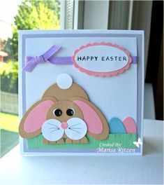 WRM - Punch Bunny by whiterockmama - Cards and Paper Crafts at Splitcoaststampers
