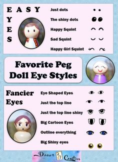 Peg Doll Eyes