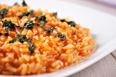 Despite the rumors, comfort food and good nutrition are not diametrically opposed. Case in point: this delicious, creamy barley risotto.