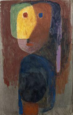 Paul Klee, Evening Figure (Figure le soir), 1935  on ArtStack #paul-klee #art