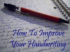 What do you think when you see someone has great handwriting? What about when they have poor handwriting?