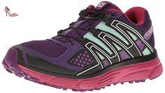 Salomon  X-mission 3 W, Sneakers trail-running femme - violet - Violet (Acai/Sangria/Fair Aqua), 45 1/3 EU - Chaussures salomon (*Partner-Link)