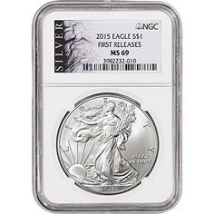 2015 American Silver Eagle 1 MS69 First Releases