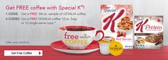 Saving 4 A Sunny Day: Free Coffee With Special K