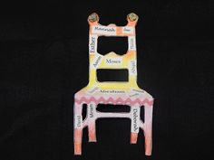 Usphizin Chair--JTeach.org offers Jewish art projects, lesson plans, activities…