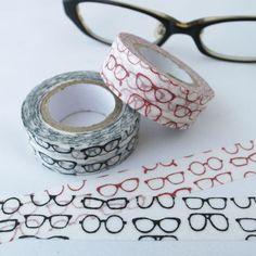 眼鏡柄マスキングテープ