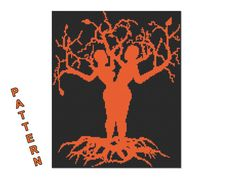 Tree of Life PDF pattern Counted cross stitch No.96 by GreatHome, $5.00