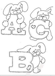 Alfabetos Lindos: Moldes