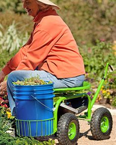 Don't give up on your love of gardening - Gardening tips to help make it easier on your body.