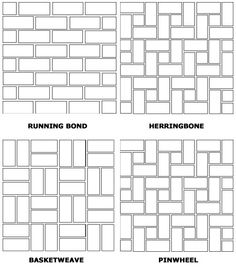 Bricks Drawings And Pattern Drawing On Pinterest
