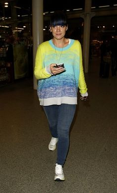 Lily Allen Photos: Lily Allen Spotted at Kings Cross