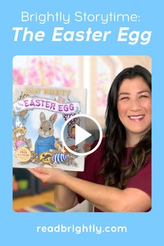 Jan Brett's THE EASTER EGG tells the story of a lovable bunny and his extraordinarily kind heart. Follow along as Ms. Linda reads this classic Easter tale. Jan Brett, Toddler Books, Egg Decorating, Bible Stories, Book Gifts, Read Aloud, Story Time, Early Childhood, Easter Eggs