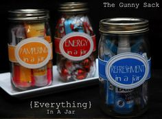 Jar gifts – maybe for Teacher gifts?