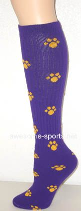 Crazy softball socks