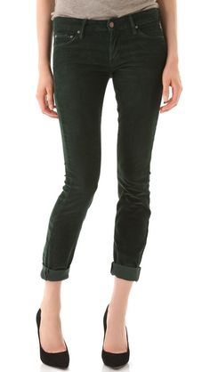 MOTHER The Looker Corduroy Skinny Pants #SpaFinderWishlist