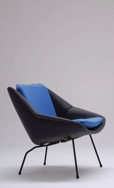 Cees Braakman; #FM 08 Lounge Chair for Pastoe, c1955.