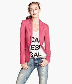 Jersey blazer H&M