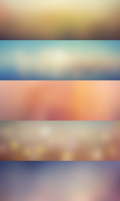 5 Blurred Backgrounds Vol.1 | GraphicBurger ... Am I the only one who thinks these look a little bit like wordart gradients from way back when with a super gaussian blur on top?