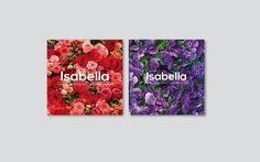Tarjetas de visita Isabella http://cargocollective.com/aleksfigueira/Isabella