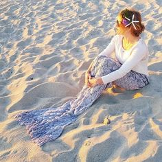 The best Mermaid tail blanket! Mermaid Gifts, Mermaid Tail Blanket, Snorkeling, See Photo, Sailing, Ocean, Album, Photo And Video, Pictures