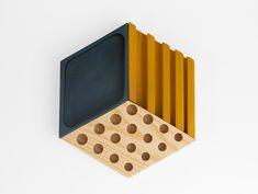 Kesito Organizer by Daniel Garcia & Maria Vargas isometrical, modular, stationery