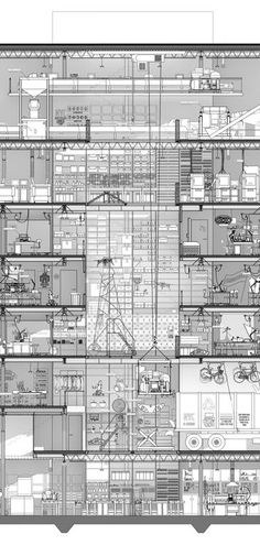 YMBA Microfactory, sectional narrative - Harry Wei